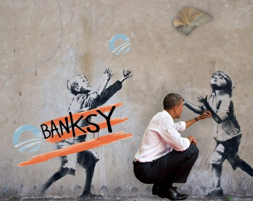 banksy-obama
