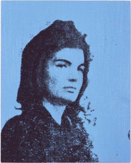 andy-warhol-jackie-blue-1964