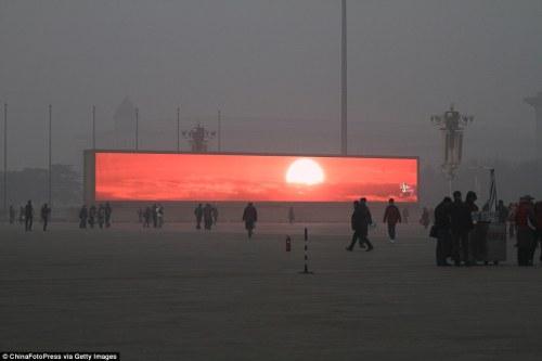 lever de soleil beijing