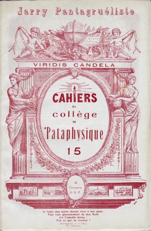 Cahiers_du_Collège_de_'Pataphysique