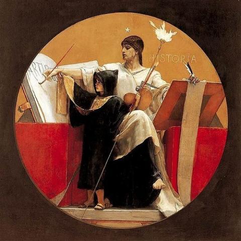Nikolaos Gysis, Allégorie de l'histoire (1892)
