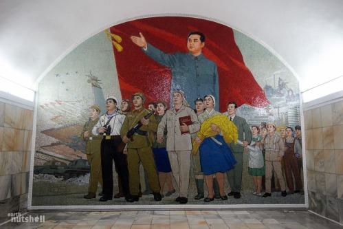 92-pyongyang-metro-murals