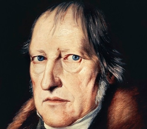 UNSPECIFIED - CIRCA 2002: Portrait of Georg Wilhelm Friedrich Hegel (Stuttgart, 1770-Berlin, 1831), German philosopher. Berlino, Dahlem, Staatliche Museen Zu Berlin, Museum Europaischer Kulturen (Photo by DeAgostini/Getty Images)