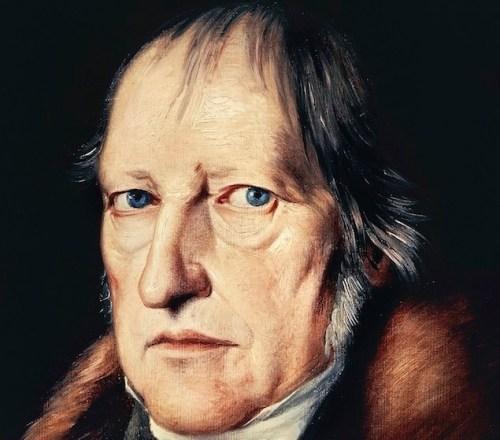 UNSPECIFIED - CIRCA 2002: Portrait of Georg Wilhelm Friedrich Hegel (Stuttgart, 1770-Berlin, 1831), German philosopher. Berlino, Dahlem, Staatliche Museen Zu Berlin, Museum Europaischer Kulturen (Photo by DeAgostini/Getty Images)